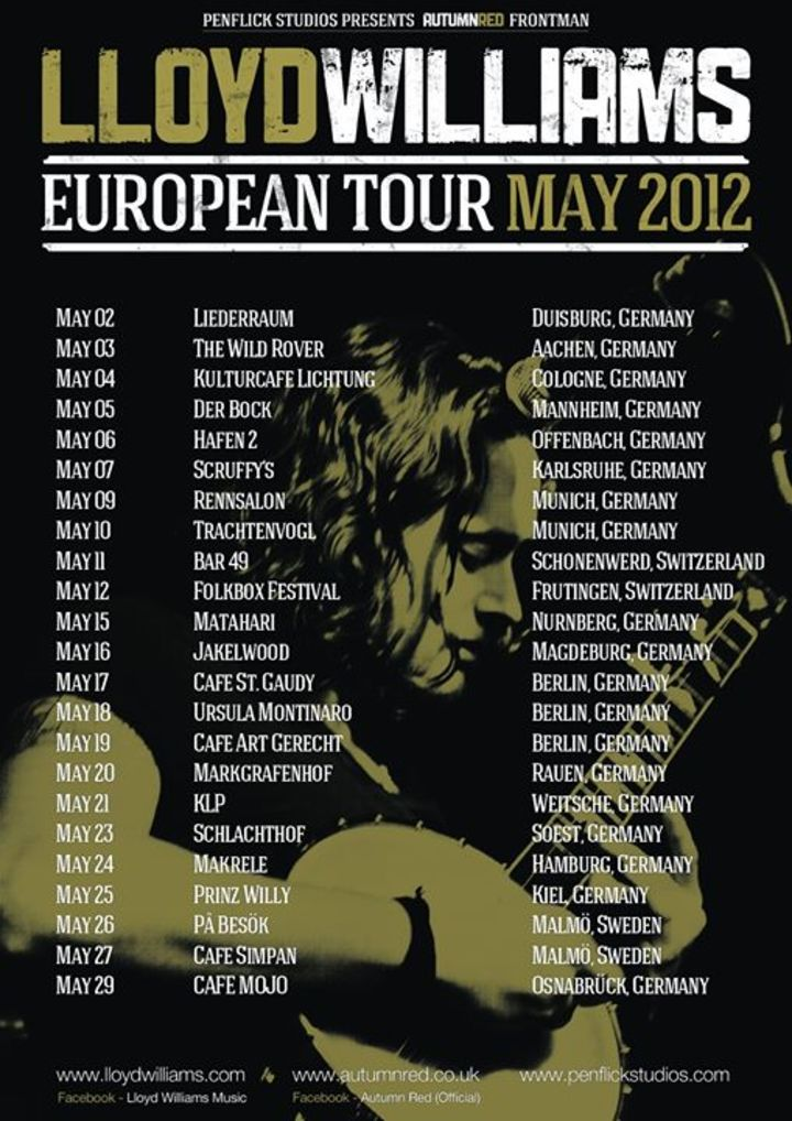 Autumn Red Tour Dates