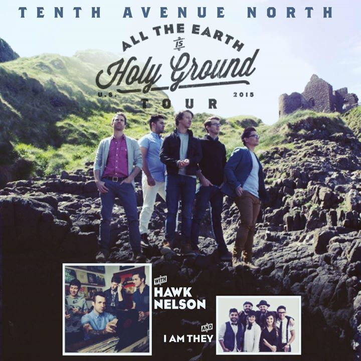 Tenth Avenue North @ THE STRUGGLE TOUR - University Baptist Church - Fayetteville, AR