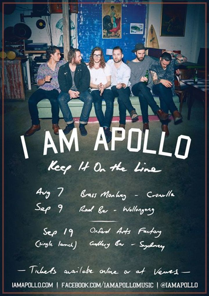I Am Apollo Tour Dates