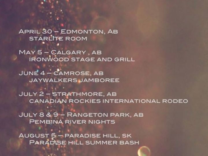 Short of Able Tour Dates