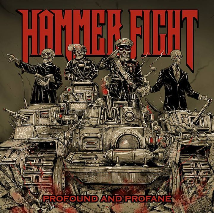 Hammer Fight Tour Dates