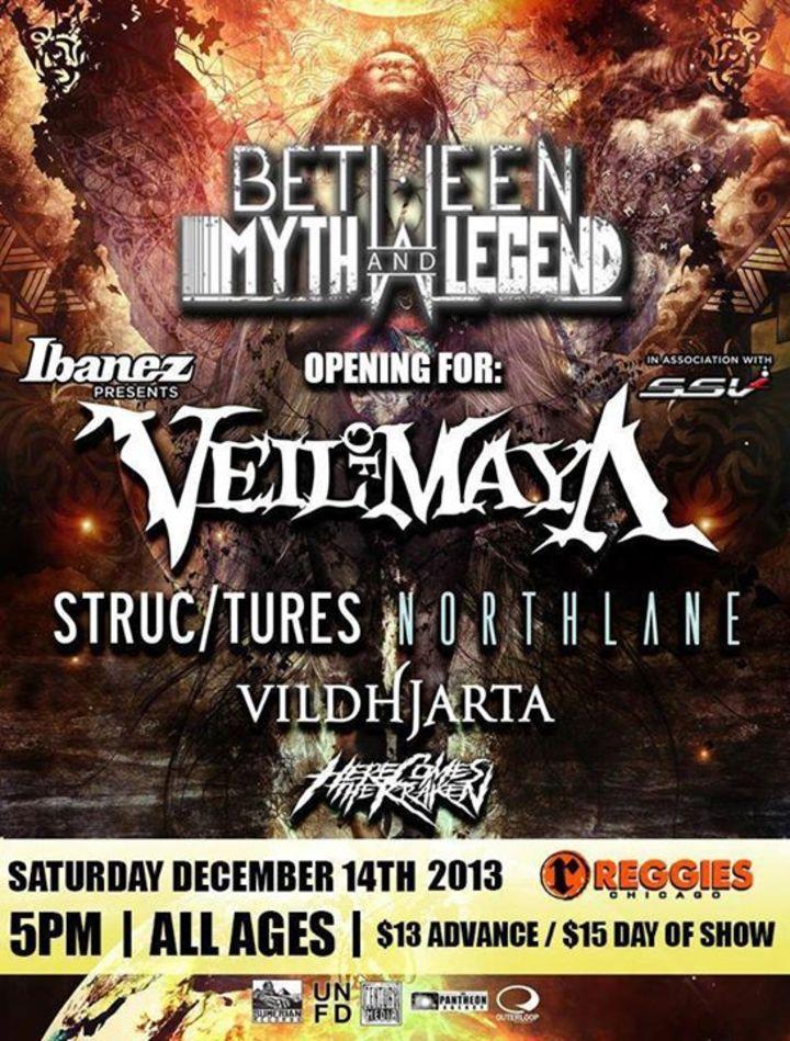Between Myth & Legend Tour Dates