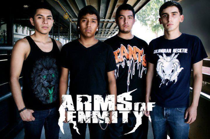 Arms Of Enmity Tour Dates