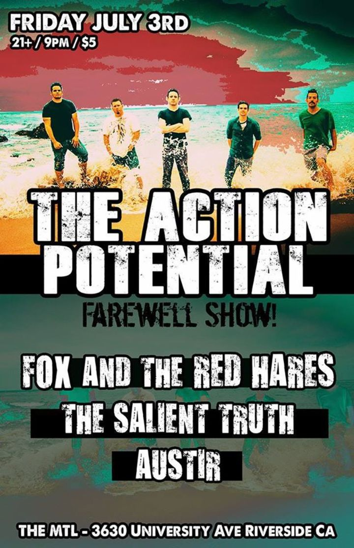 The Action Potential Tour Dates
