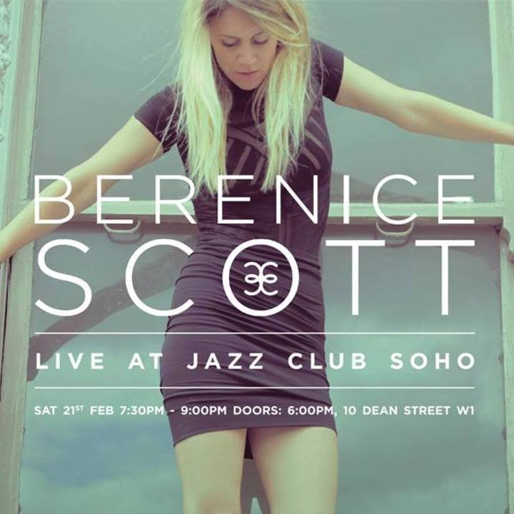 Berenice Scott Tour Dates
