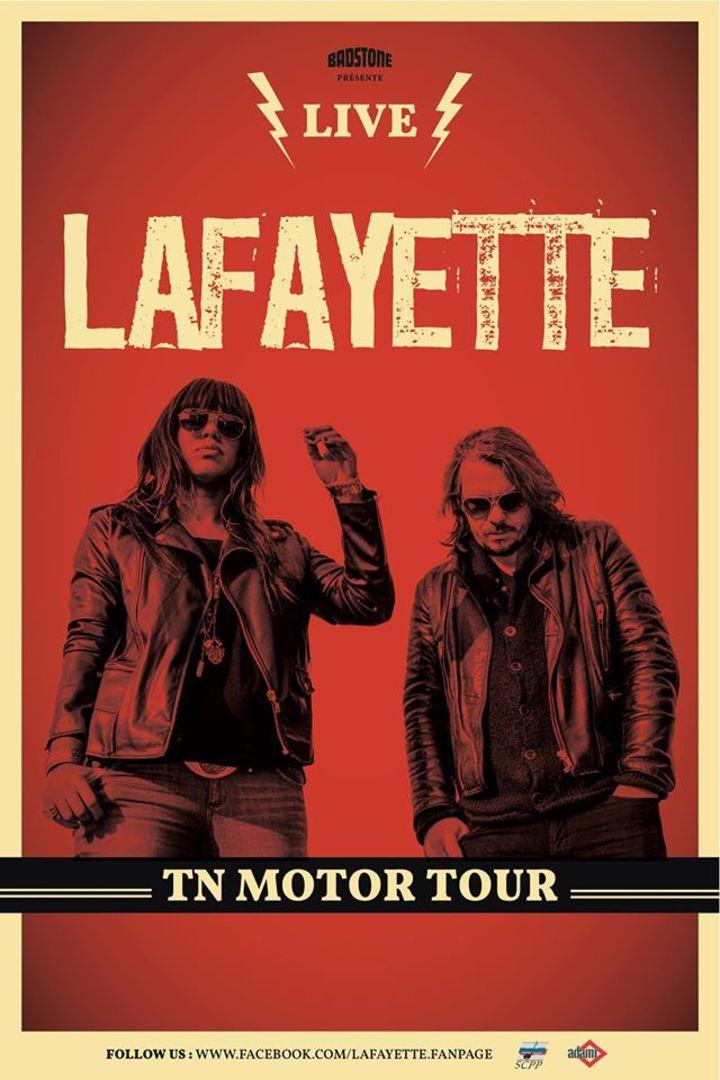 Lafayette Tour Dates