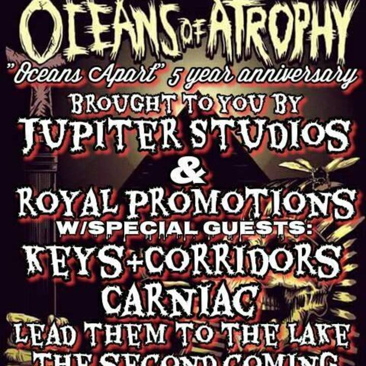 Oceans of Atrophy Tour Dates