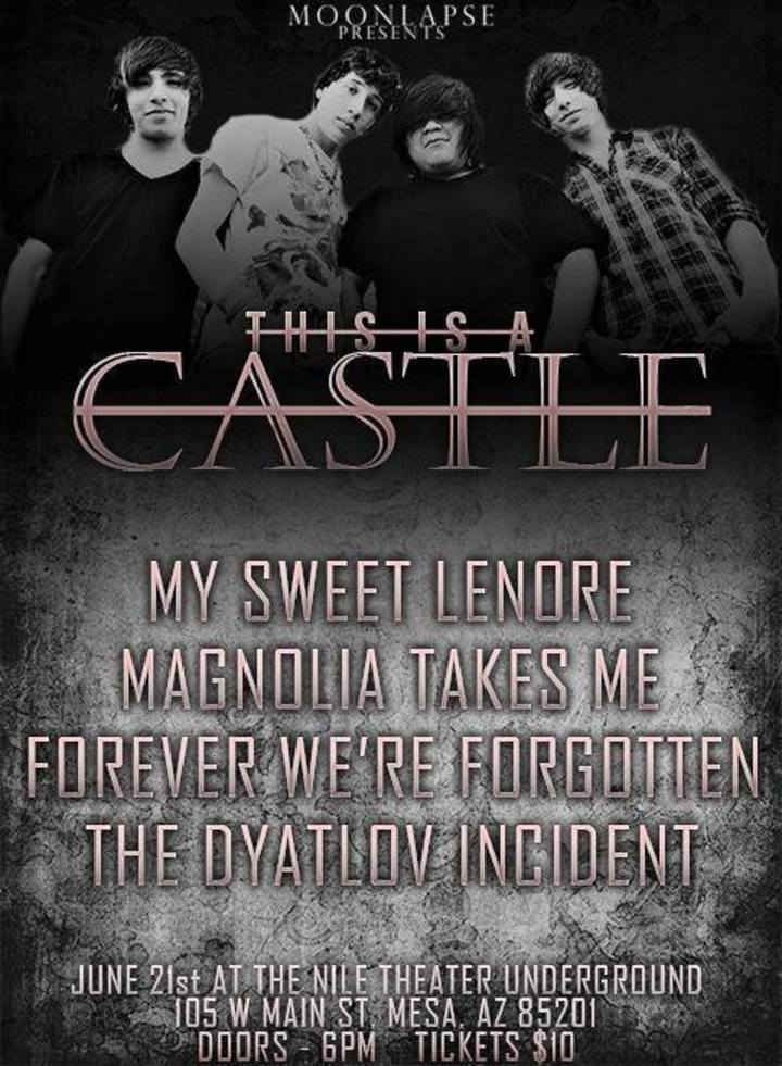This Is A Castle! Tour Dates