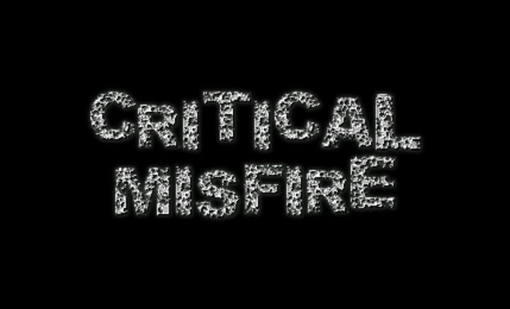 Critical Misfire Tour Dates