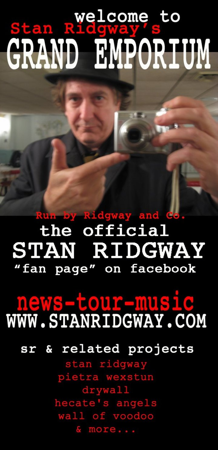 Stan Ridgway's Grand Emporium Tour Dates