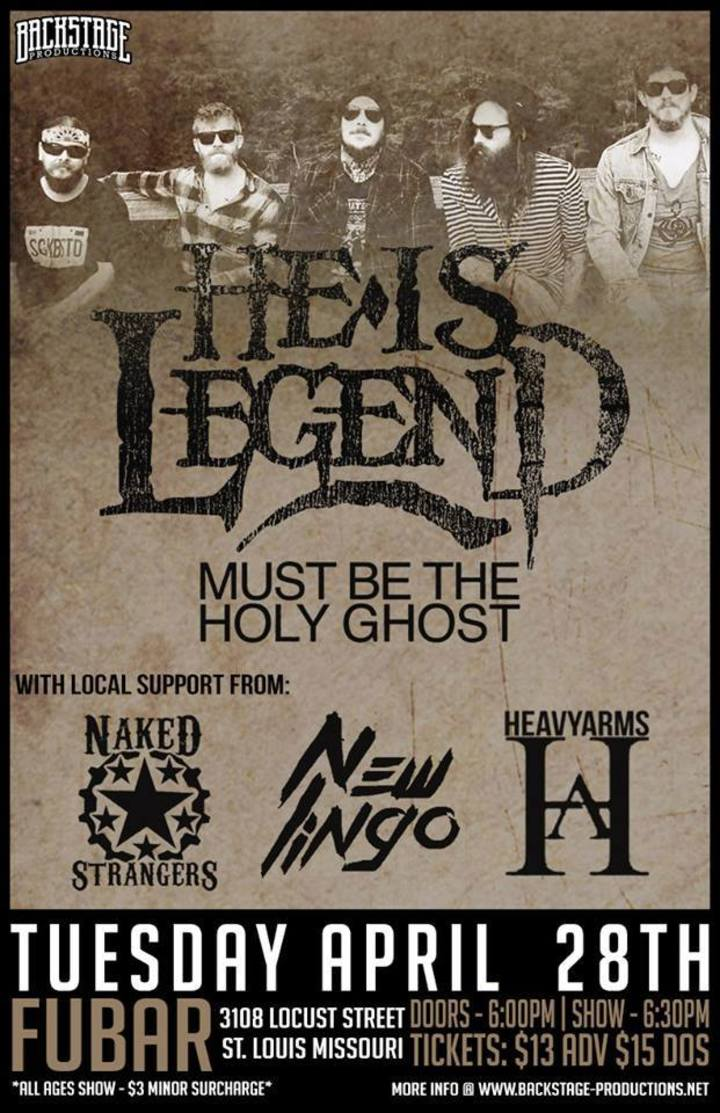 Naked Strangers Tour Dates