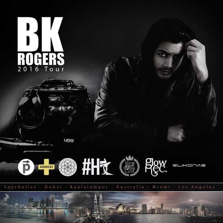 BK Rogers Tour Dates