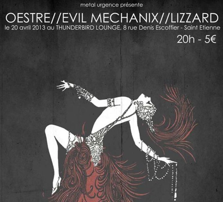 Evil Mechanix Tour Dates