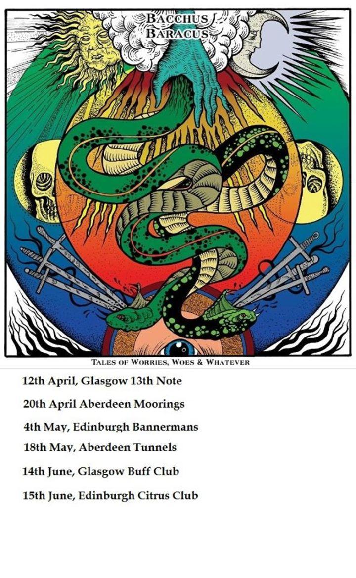 Bacchus Baracus Tour Dates