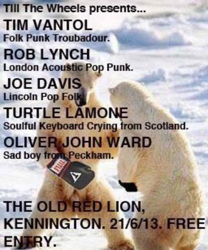 Oliver John Ward Tour Dates