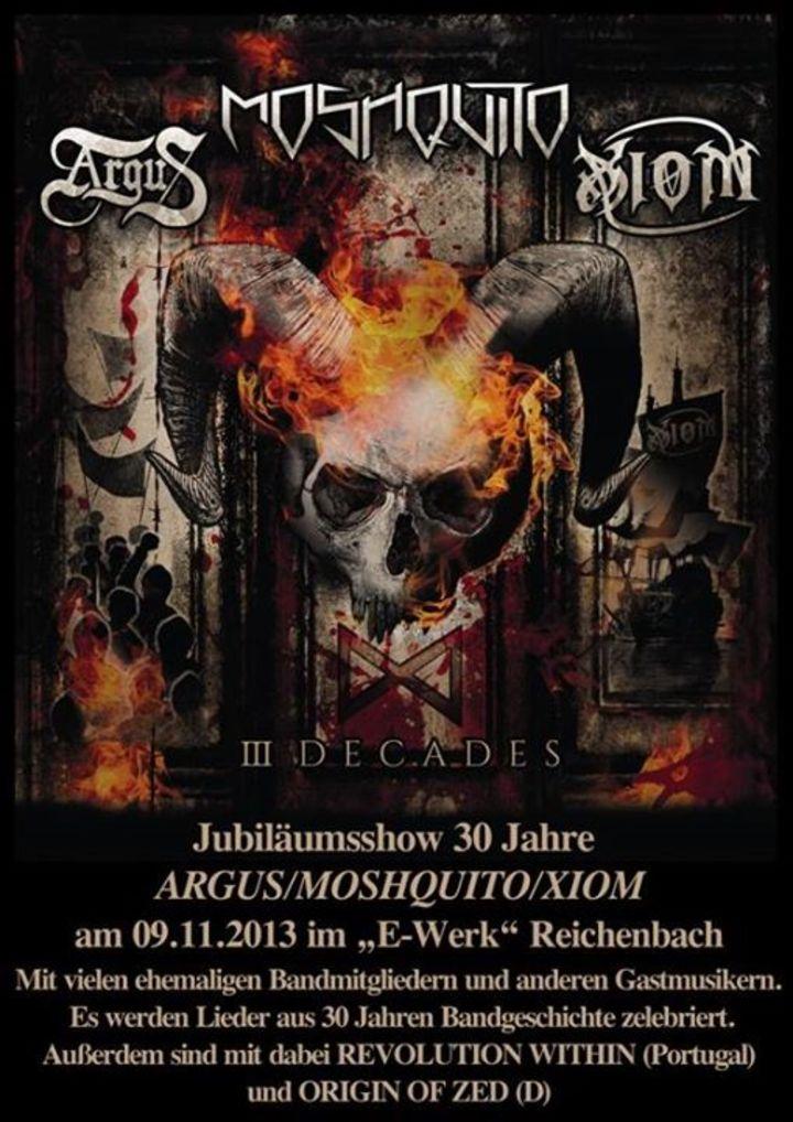 Xiom (Official) Tour Dates