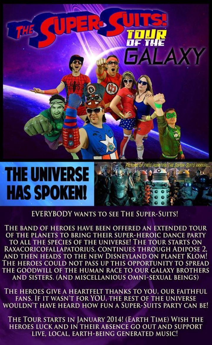 The Super-Suits Tour Dates