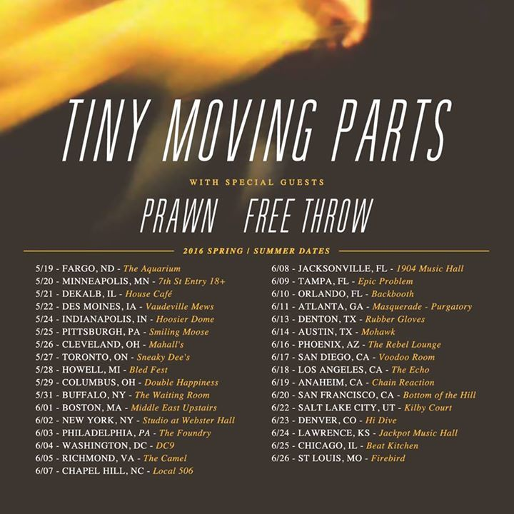 Tiny Moving Parts @ Il Motore - Montreal, Canada
