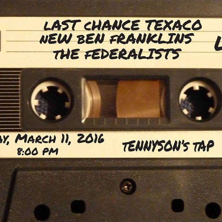 New Ben Franklins Tour Dates
