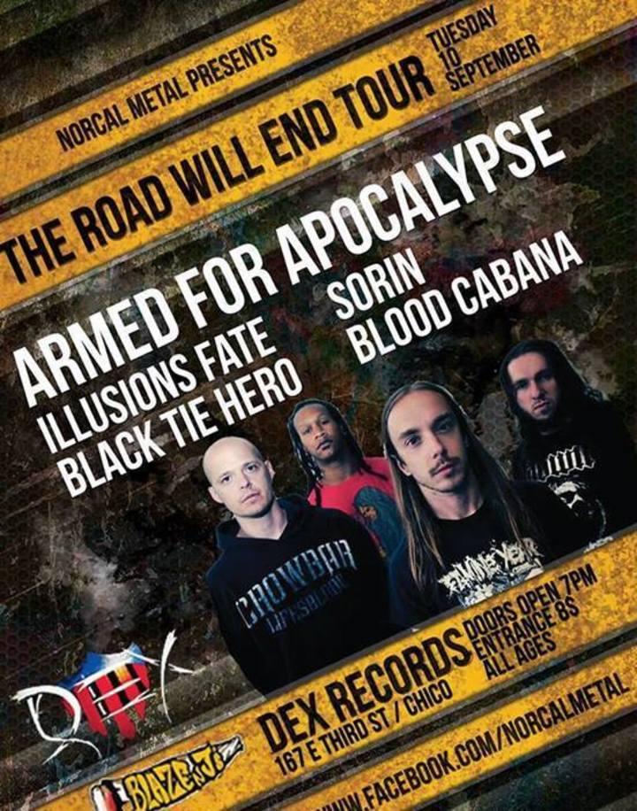 Black Tie Hero Tour Dates