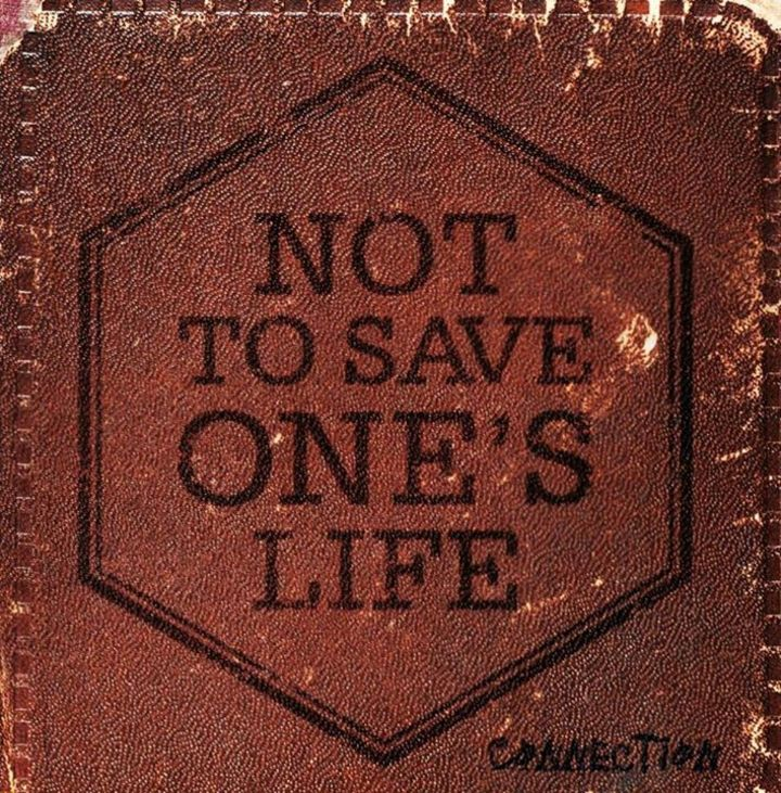 Not To Save One's Life Tour Dates