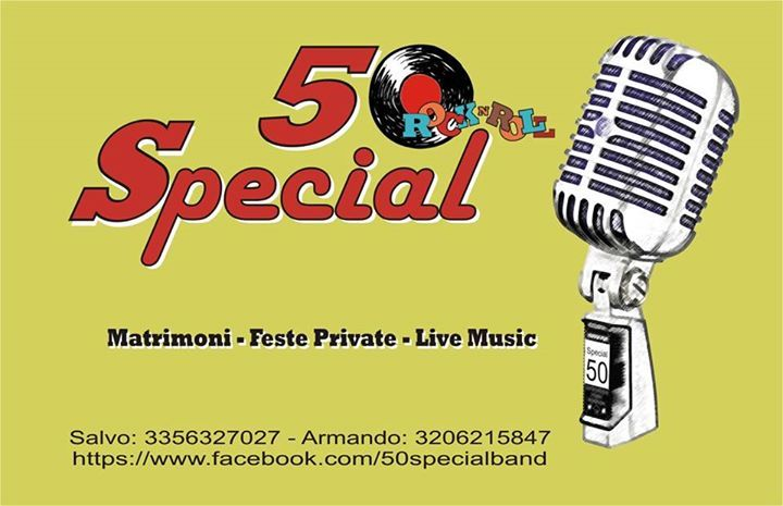 50 Special Rock 'N' Roll Band Tour Dates