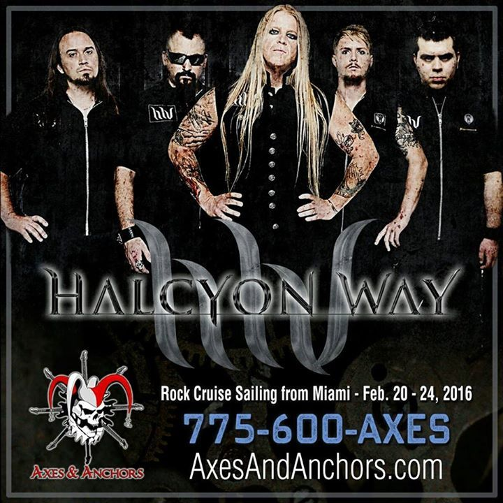 Halcyon Way Tour Dates