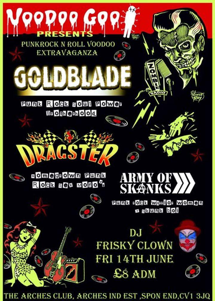 VoodooGoo Promotions & Booking Tour Dates