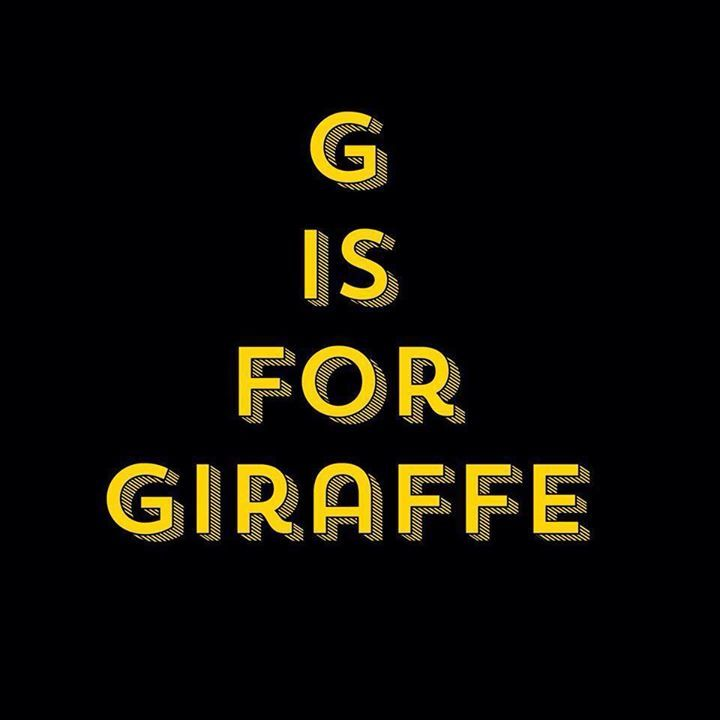 G is for Giraffe Tour Dates