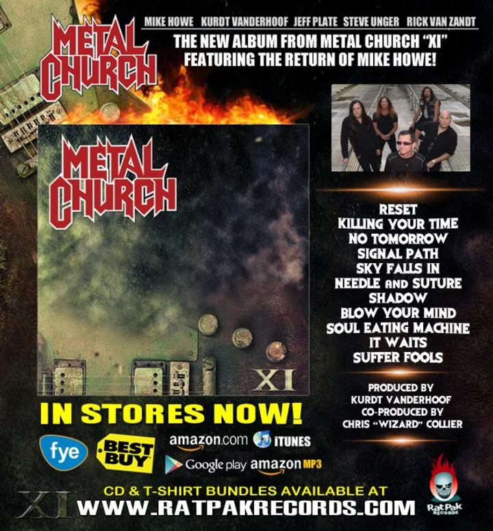 Metal Church Tour Dates