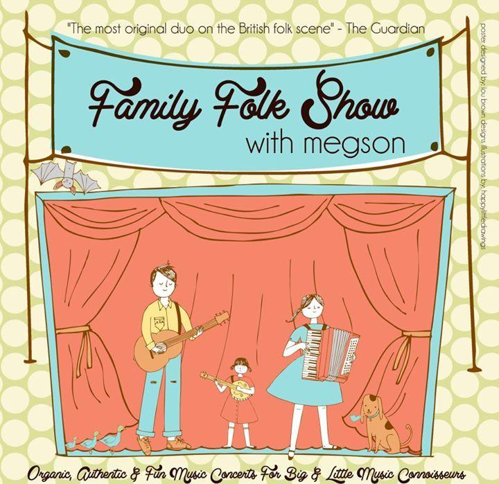 Family Folk Show with Megson Tour Dates