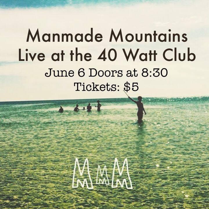 Manmade Mountains Tour Dates