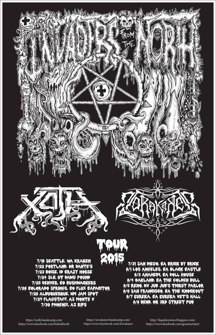 Zorakarer Tour Dates