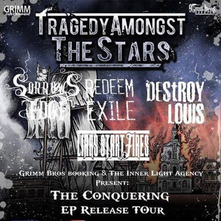 Liars Start Fires Tour Dates