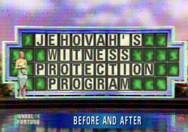 Jehovah's Witness Protection Program Tour Dates