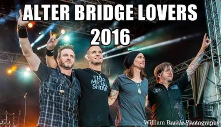 Alter Bridge Lovers Tour Dates