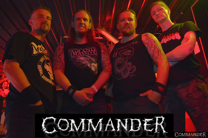 COMMANDER - Death Metal Munich Tour Dates