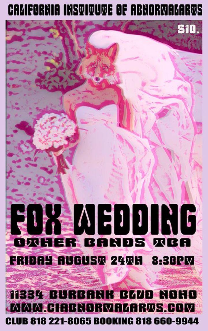 Fox Wedding Tour Dates