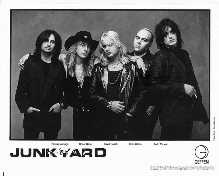 Junkyard Tour Dates