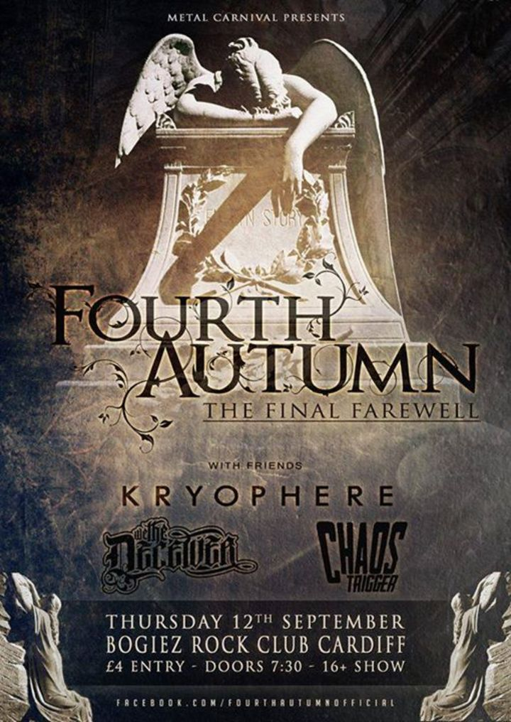 Fourth Autumn Tour Dates