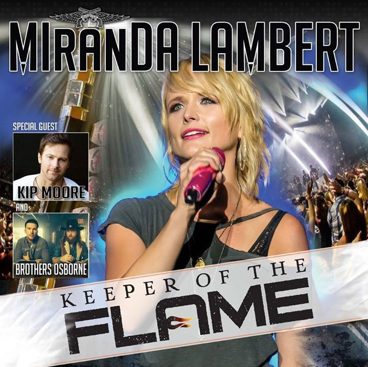 Miranda Leigh Lambert Tour Dates