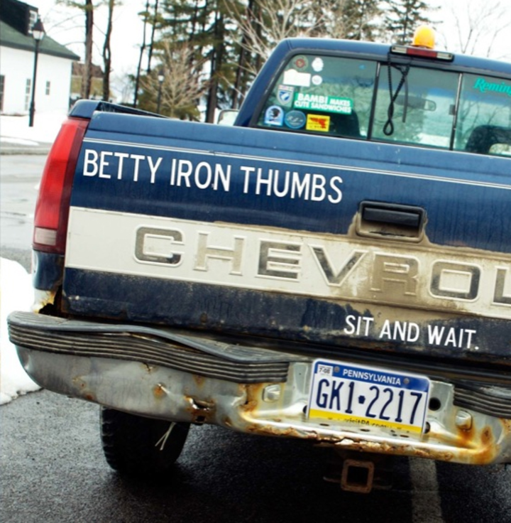 Betty Iron Thumbs Tour Dates