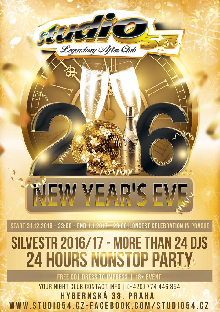 dj enrico @ New Year's Eve 2017 - Prague, Czech Republic