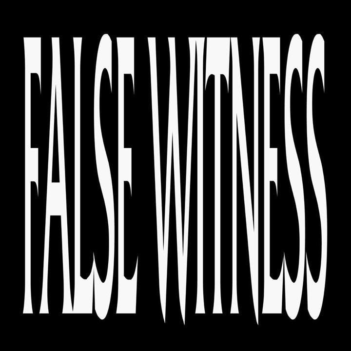 False Witness Tour Dates