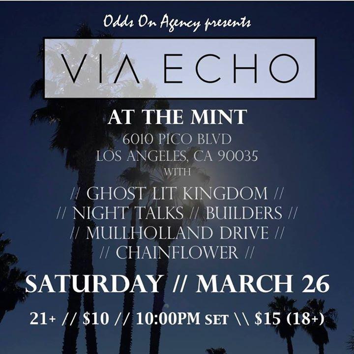 Via Echo Tour Dates