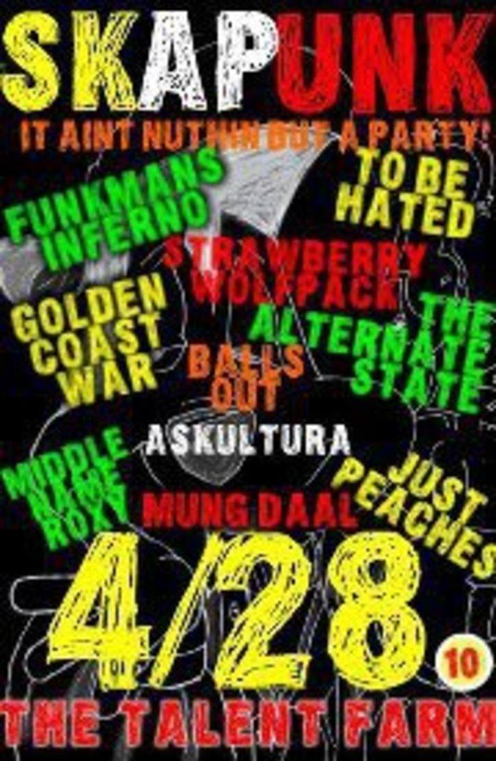 MUNG DAAL Tour Dates