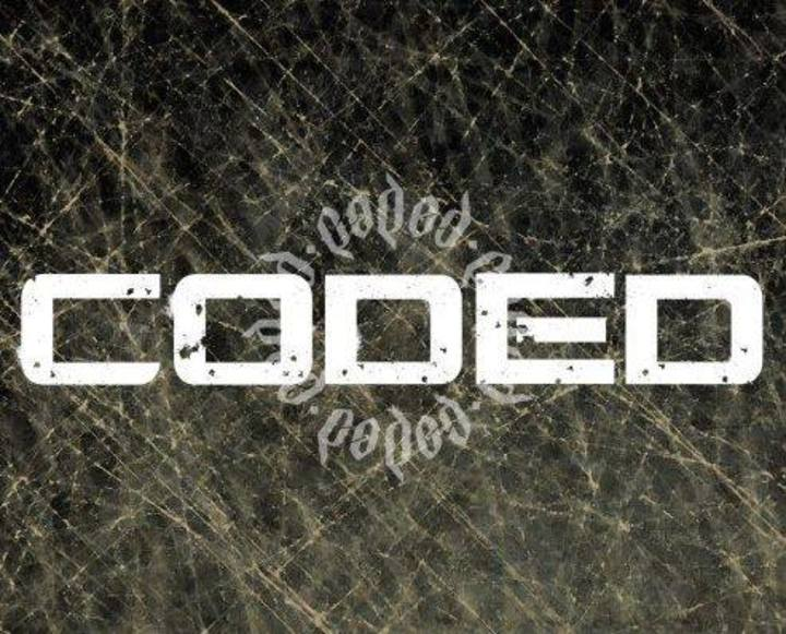 Coded Tour Dates