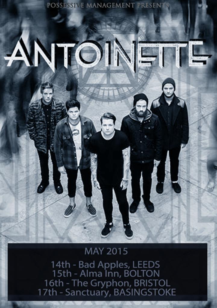 Antoinette Tour Dates