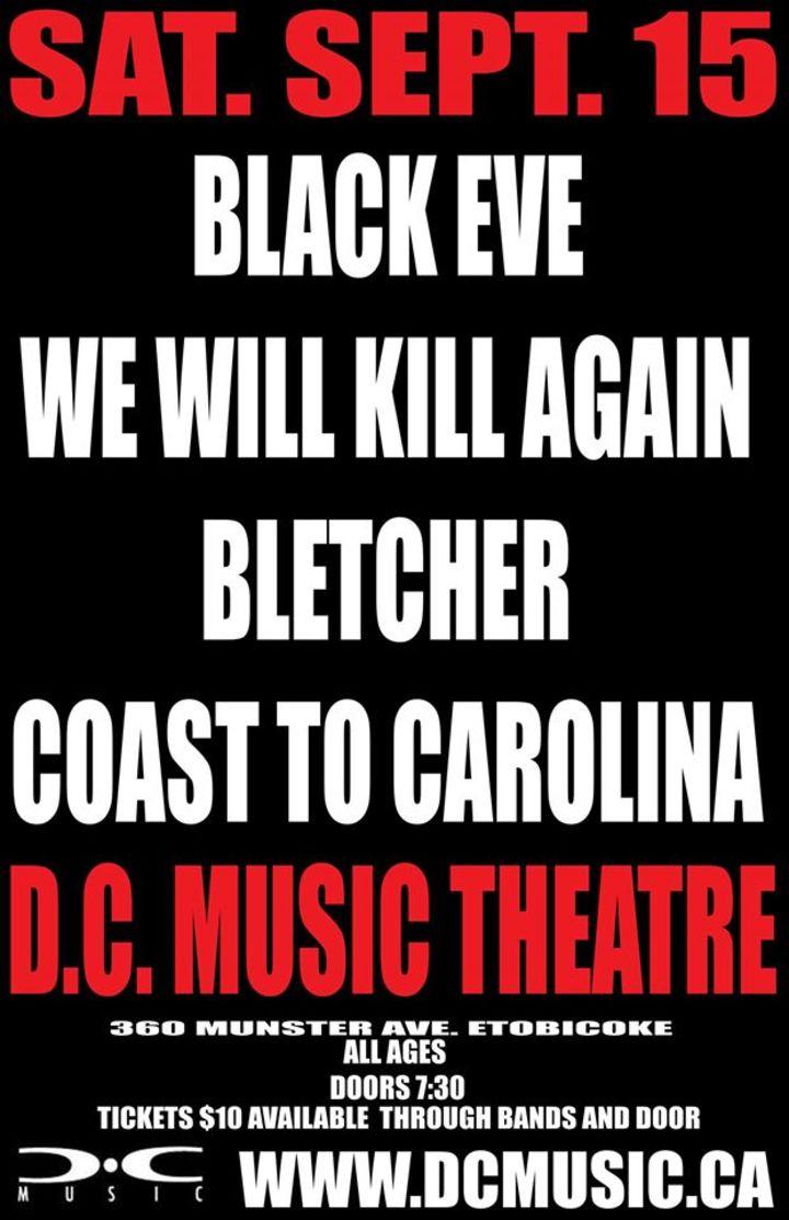 Coast To Carolina Tour Dates