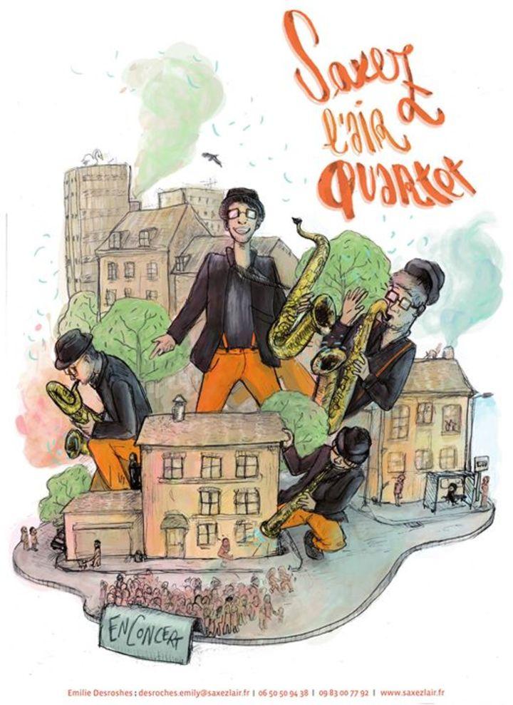 Saxez l'Air Quartet Tour Dates